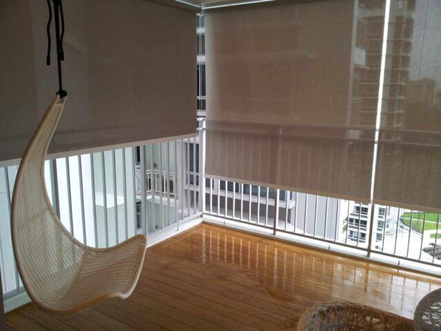 жалюзі на балкон